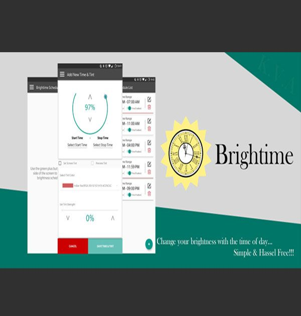 Brightime (Android Appilcation) - Kreative Tek Solutions