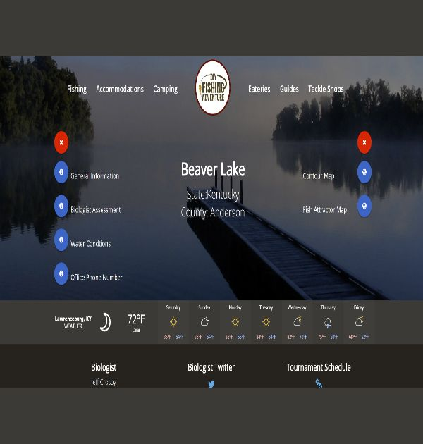 DIY Fishing Adventure (Custom Website) - Kreative Tek Solutions