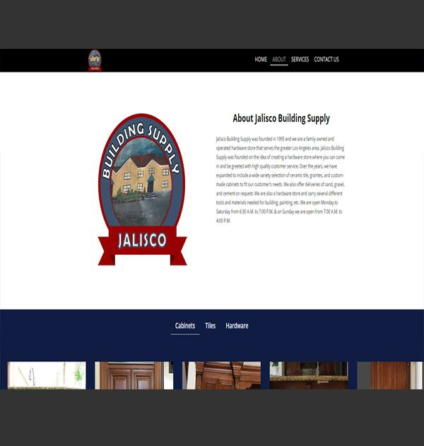 Jalisco Building Supply(website-custom)