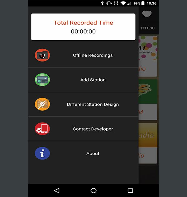 Online Indian Radio (Android Application) - Kreative Tek Solutions